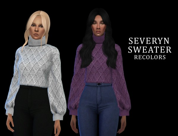 Leo 4 Sims: Severyn Sweater