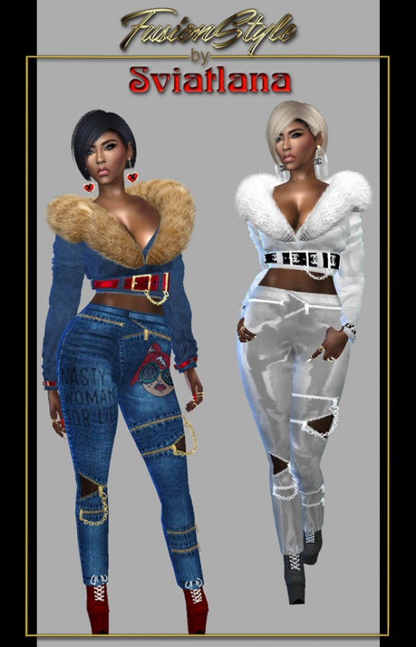 Fusion Style Pants By Sviatlana Sims 4 Downloads