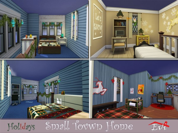 The Sims Resource: Small town Home by evi
