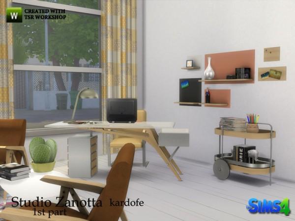 The Sims Resource: Studio Zanotta 1st part by Kardofe