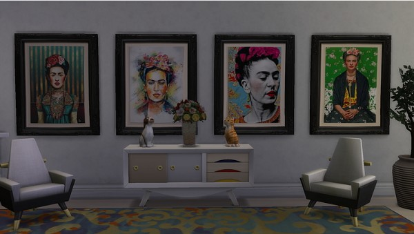 Blooming Rosy: Homage to Frida