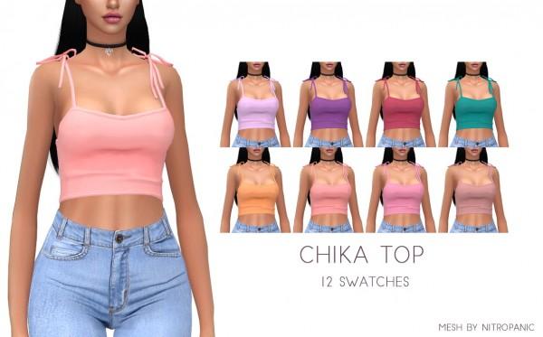 Kenzar Sims: Nitropanic Chika Top Recolored