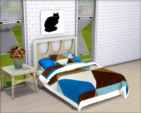 All4Sims: Bedding, Blankets and Pillows by Oldbox
