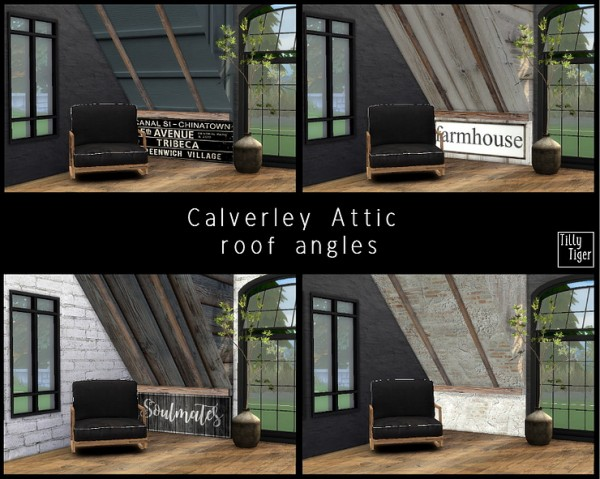 Blooming Rosy: Calverley Attic roof angles