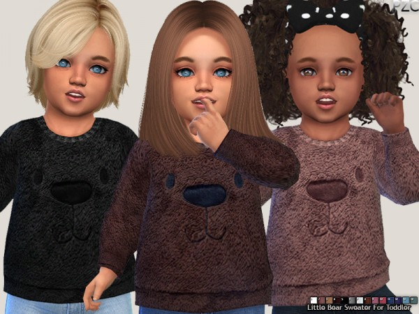 The Sims Resource: Onesie Collection and Little Bear Sweater Set by Pinkzombiecupcakes
