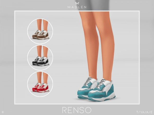 The Sims Resource: Madlen Renso Shoes by MJ95