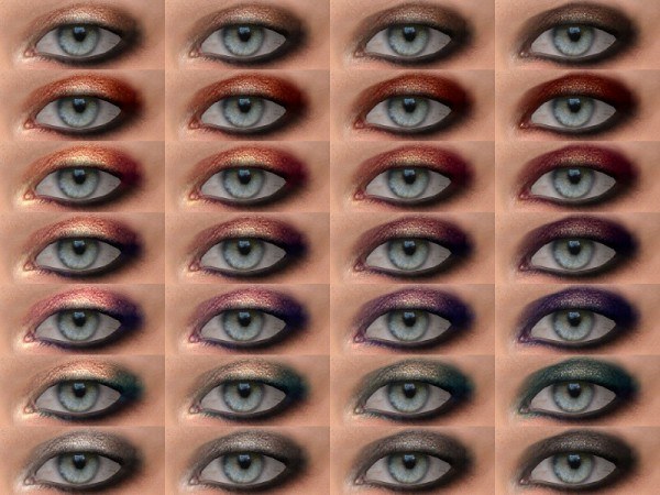 The Sims Resource: Brocade   Eyeshadow 05 HQ by Alf si