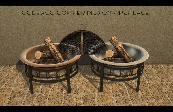 Blooming Rosy: CobraCo Mission Fireplace and Timber Chairs