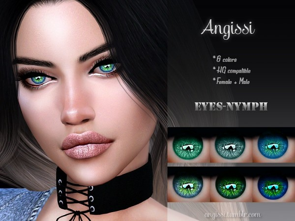 The Sims Resource: Eyes NYMPH by ANGISSI