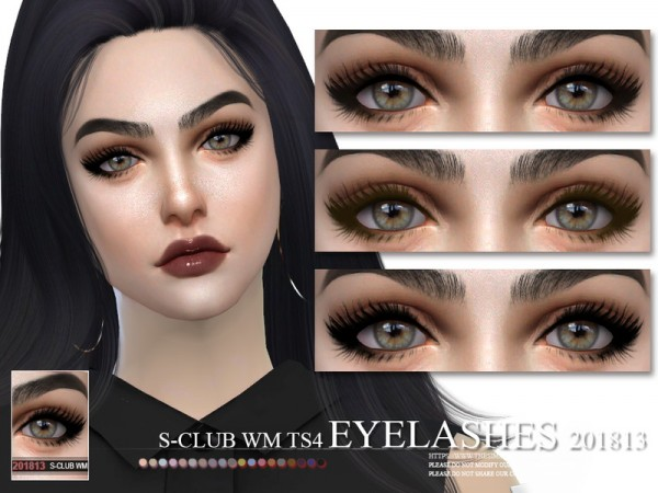 The Sims Resource: Eyelashes 201813 by S Club