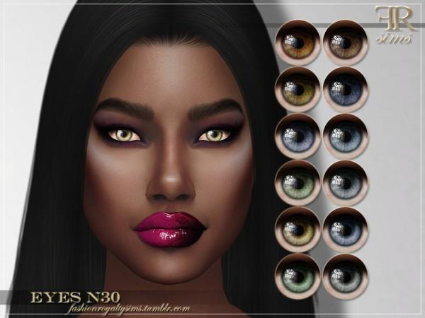 The Sims Resource: Eyes N30 by FashionRoyaltySims