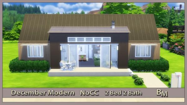 Bree`s Sims Stuff: December Modern House
