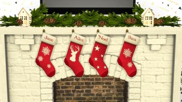 Models Sims 4: Christmas livingroom