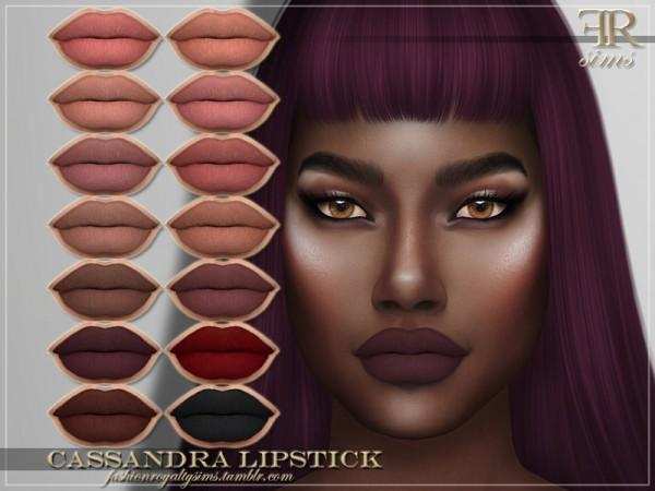 The Sims Resource: Cassandra Lipstick by FashionRoyaltySims