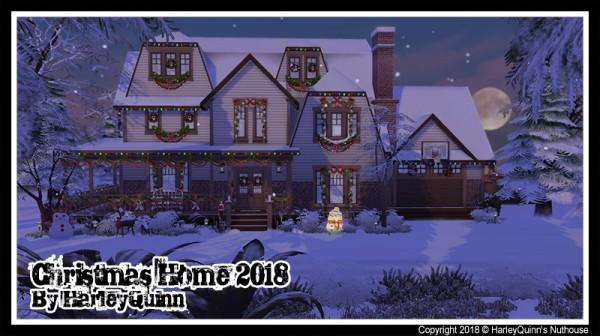 Harley Quinn Nuthouse: Christmas Home 2018