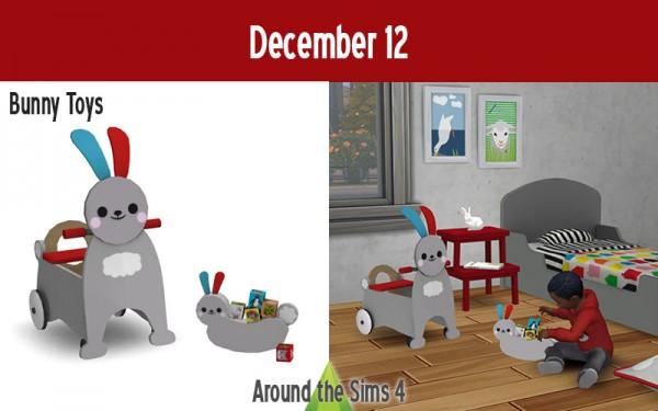 Around The Sims 4: Bunny Toys