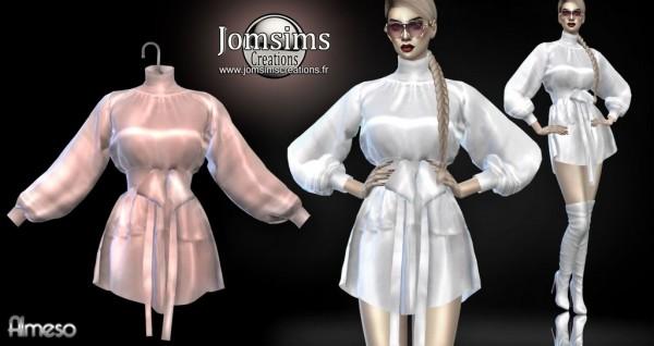 Jom Sims Creations: Almeso Satin dress