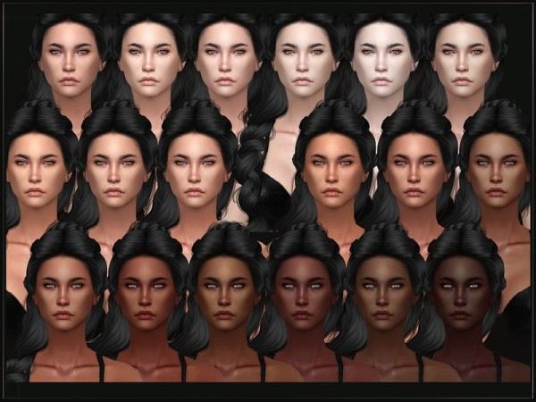 The Sims Resource: Female Skin 18 by RemusSirion