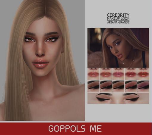 GOPPOLS Me: Celebrity Makeup Look Ariana Grande