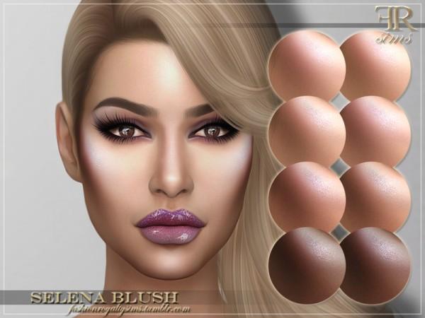 The Sims Resource: Selena Blush by FashionRoyaltySims