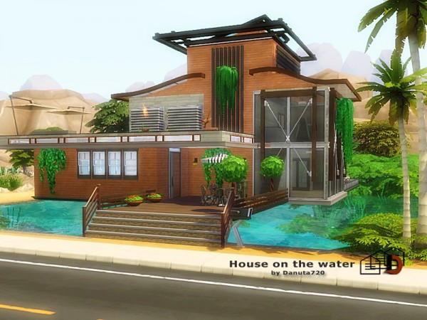 The Sims Resource: House on the water by Danuta720