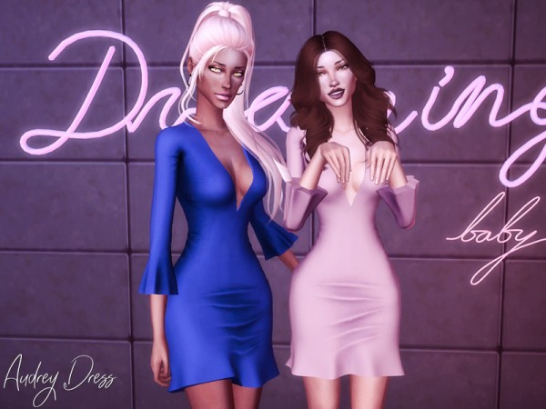The Sims Resource: Audrey Dress by Genius666