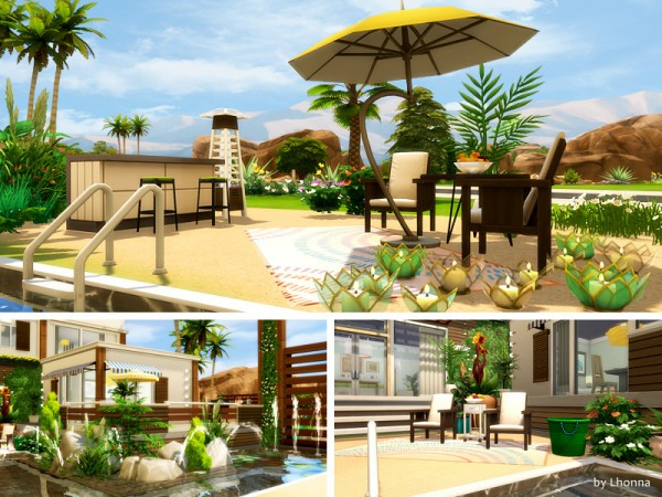 The Sims Resource: Eco Beach House