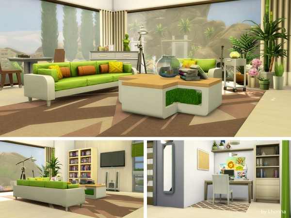 The Sims Resource: Eco Villa by Lhonna