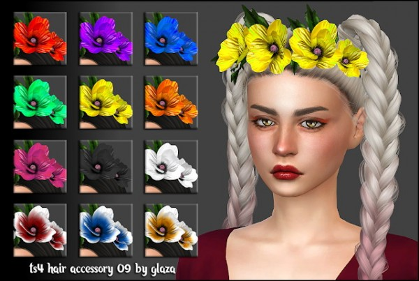 All by Glaza: Hair accessory 09