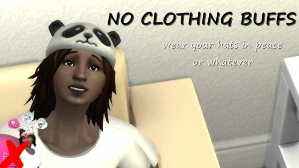 Mod The Sims: No Clothing Buffs by lemememeringue
