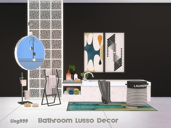 The Sims Resource: Bathroom Lusso Decor by ung999