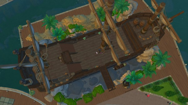 Mod The Sims: Restaurant   The Resting Dutchman by SatiSim