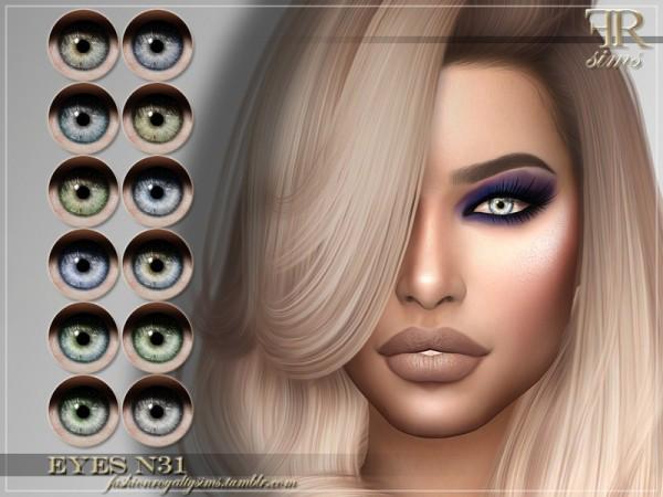 The Sims Resource: Eyes N31 by FashionRoyaltySims