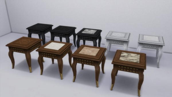 Mod The Sims: Bohemian End Table converted by TheJim07