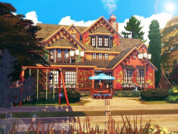 The Sims Resource: Perfect Autumn House by MychQQQ