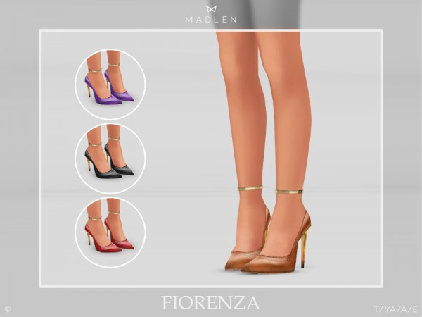 The Sims Resource: Madlen Fiorenza Shoes by MJ95