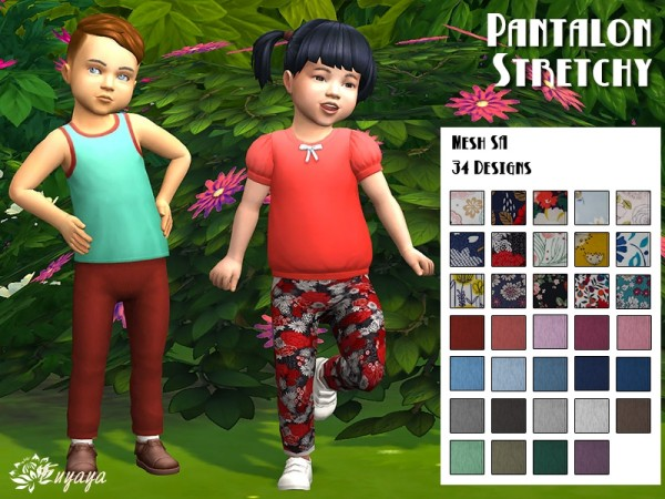 Sims Artists: Stretchy Pants