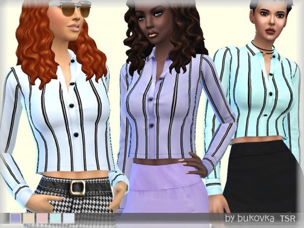 The Sims Resource: Shirt Crop by Bukovka