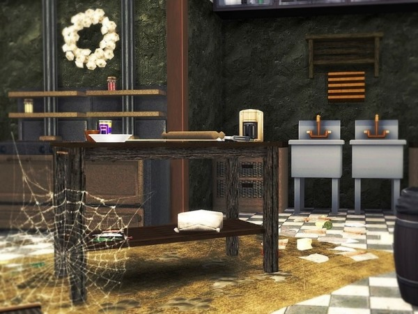 The Sims Resource: Forgotten Restaurant by MychQQQ