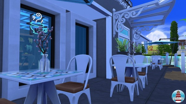 Akisima Sims Blog: Starlight Coffee