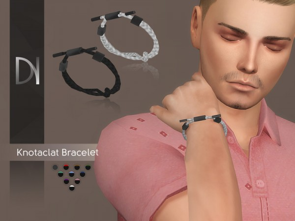 The Sims Resource: Knotaclat Bracelet Right by DarkNighTt