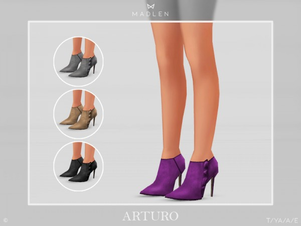The Sims Resource: Madlen Arturo Boots by MJ95