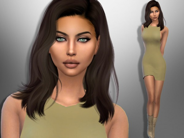 The Sims Resource: Sonia Marin by divaka45