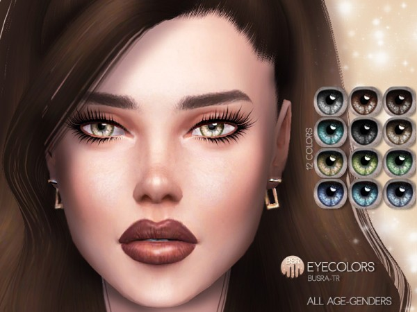 The Sims Resource: Eyecolors BES04 by busra tr