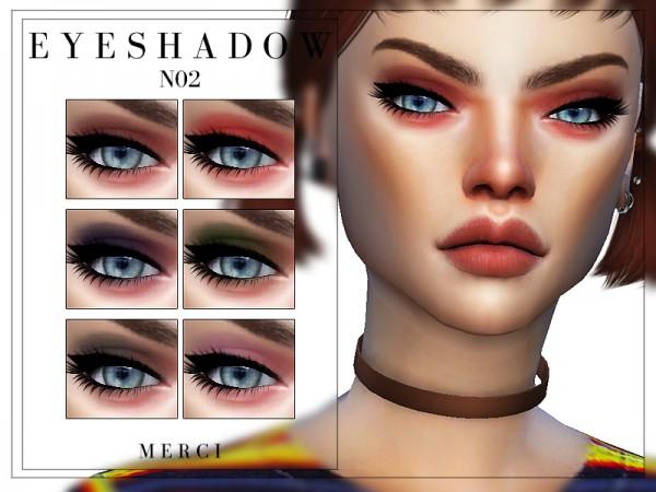The Sims Resource: Eyeshadow N02 by Merci