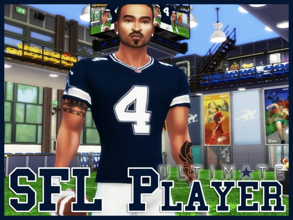 Mod The Sims Ultimate Sfl Player Career By Asiashamecca