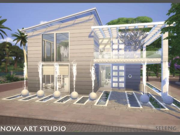 The Sims Resource: Nova Art Studio by Seleng