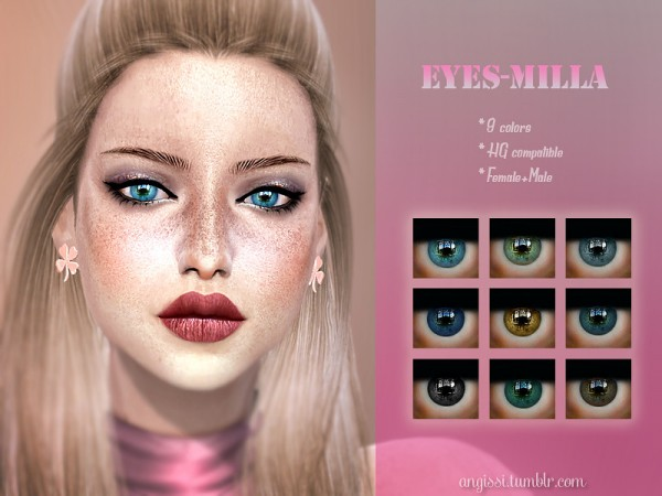 The Sims Resource: Eyes Milla by ANGISSI