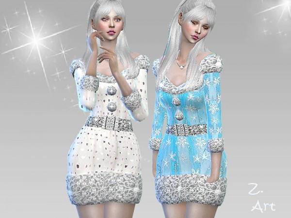The Sims Resource: WintercollectZ. 16 Dress by Zuckerschnute20