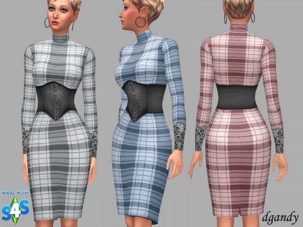 The Sims Resource: Dress Vera by dgandy